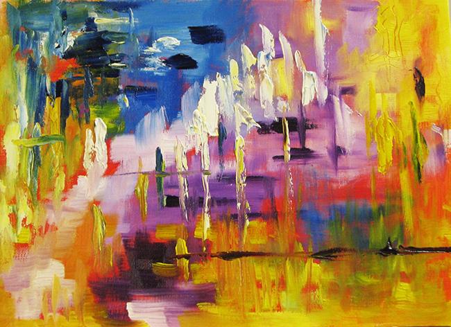 Eeva Suokon maalaus - Sokka irti